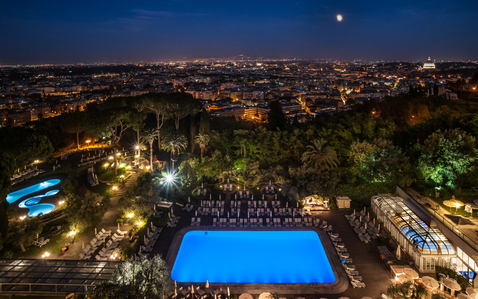 Rome Cavalieri Waldorf Astoria Luxury Resort in Rome