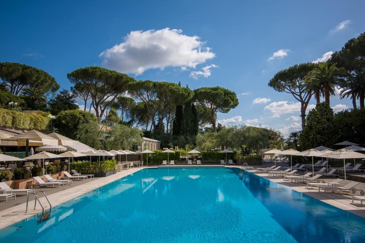 Rome Cavalieri Waldorf Astoria Grand Spa Relax Pools