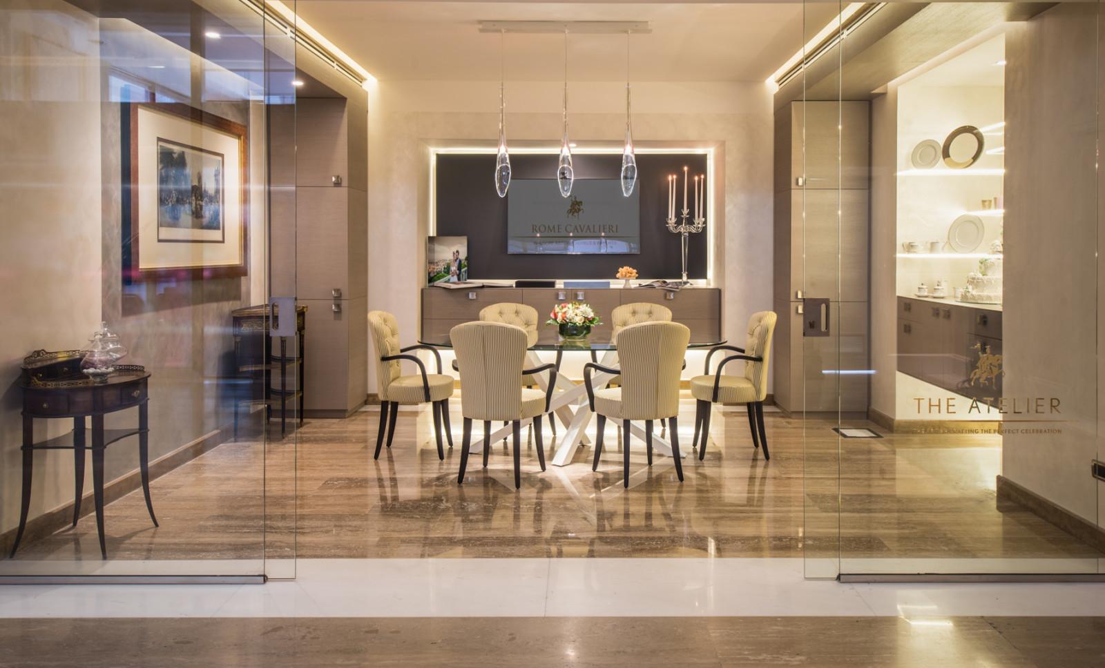 Waldorf Astoria Rome Cavalieri | Veranstaltungen | The Atelier