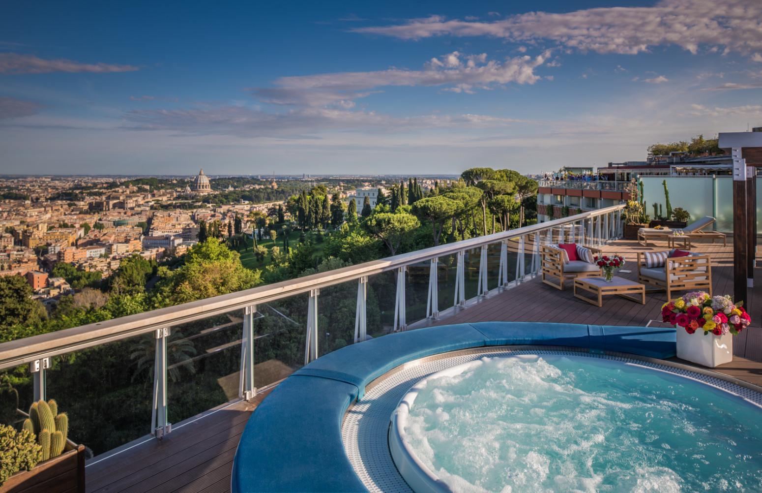 Waldorf Astoria Rome Cavalieri | Suite | Penthouse Suite